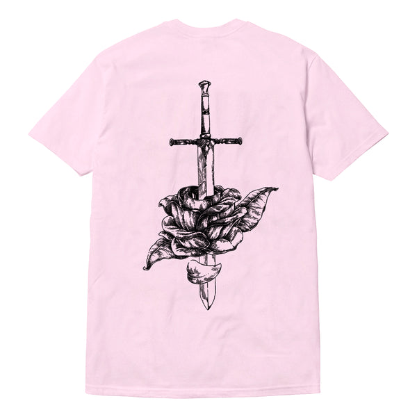 Rose Tee - Light Pink