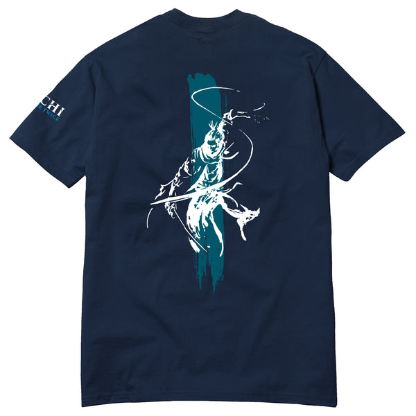 Shinobi Tee - Navy