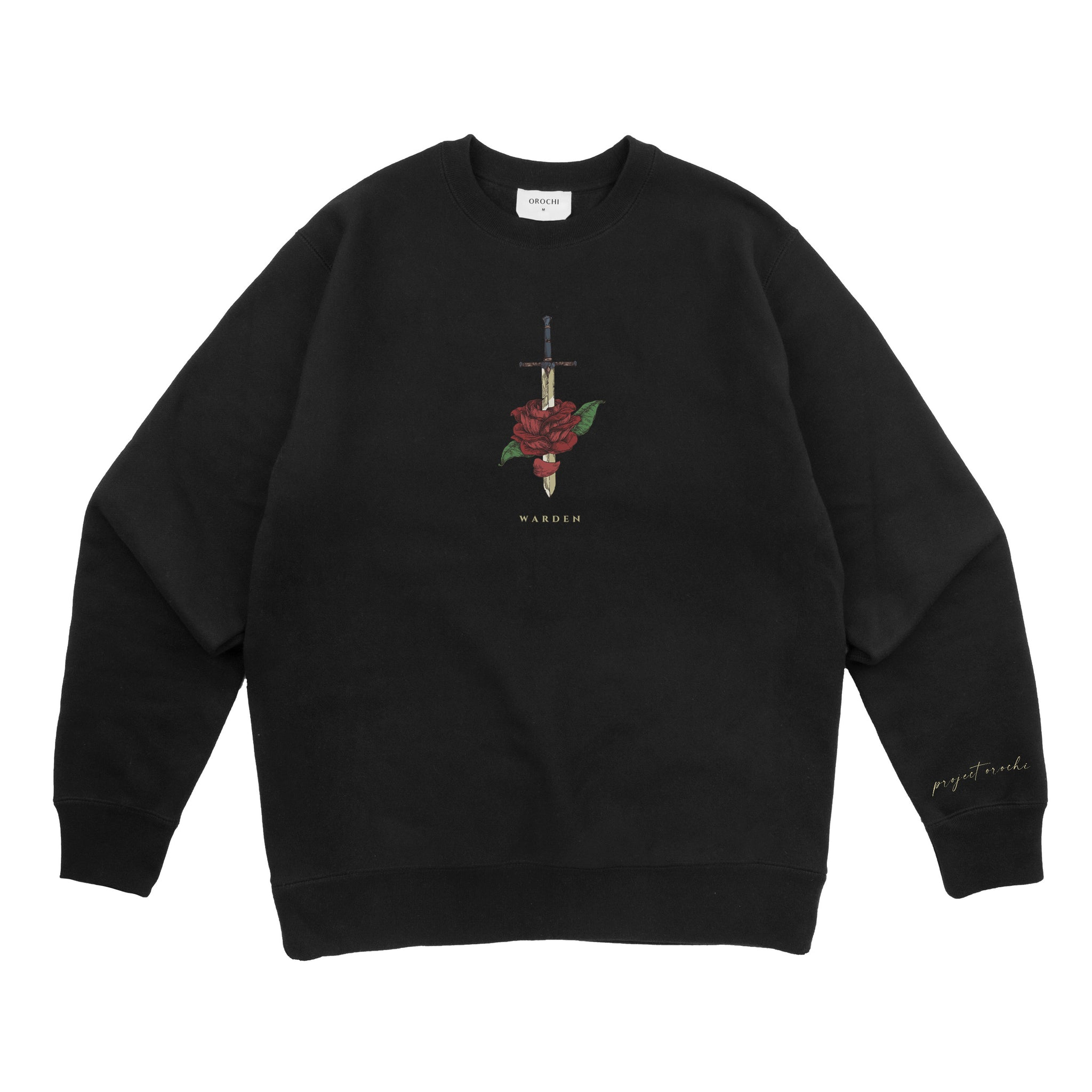 Warden Crewneck - Black