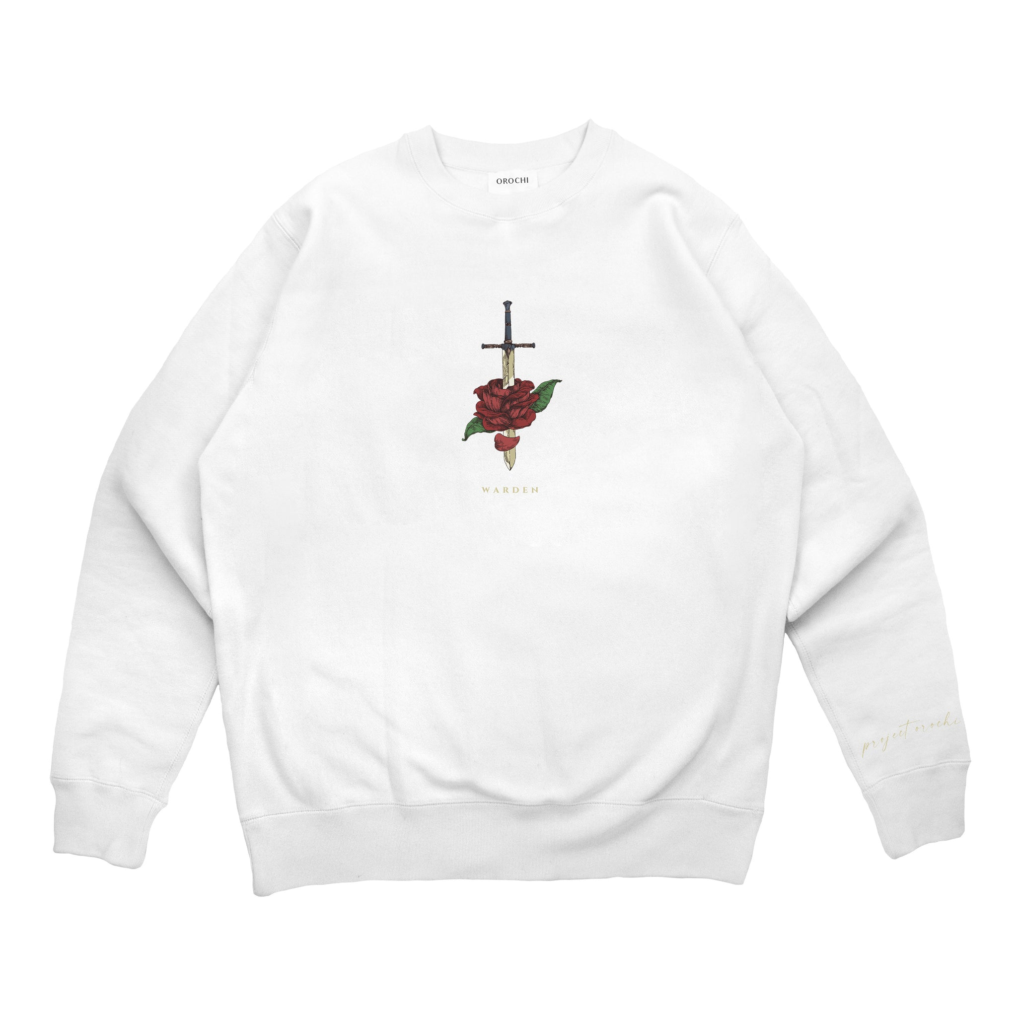 Warden Crewneck - White