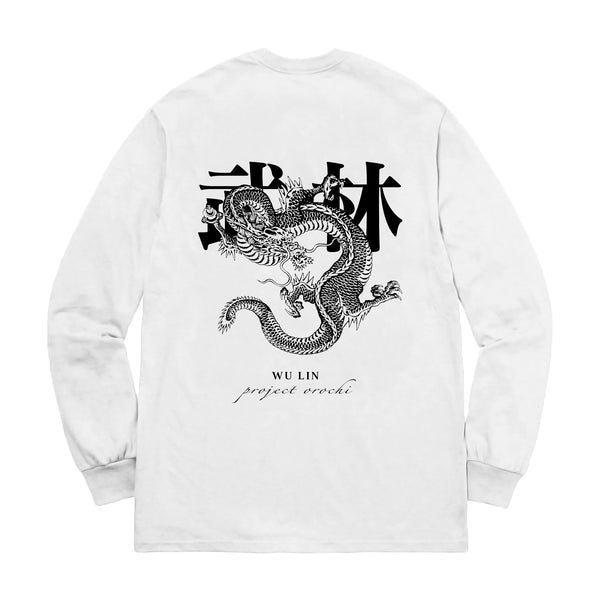 Wu Lin Long Sleeve - White