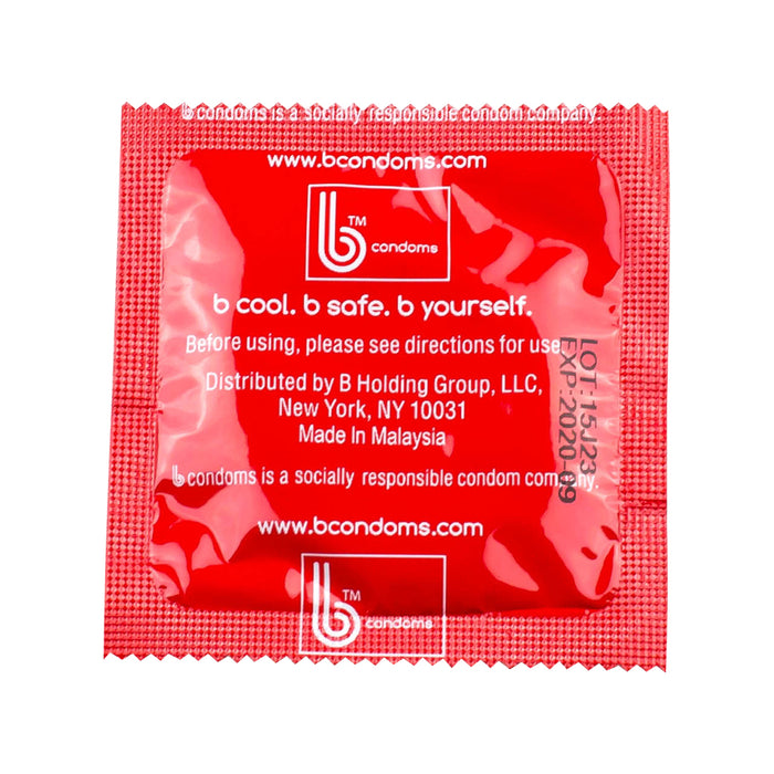 Strawberry Flavor b condoms, 1000 case