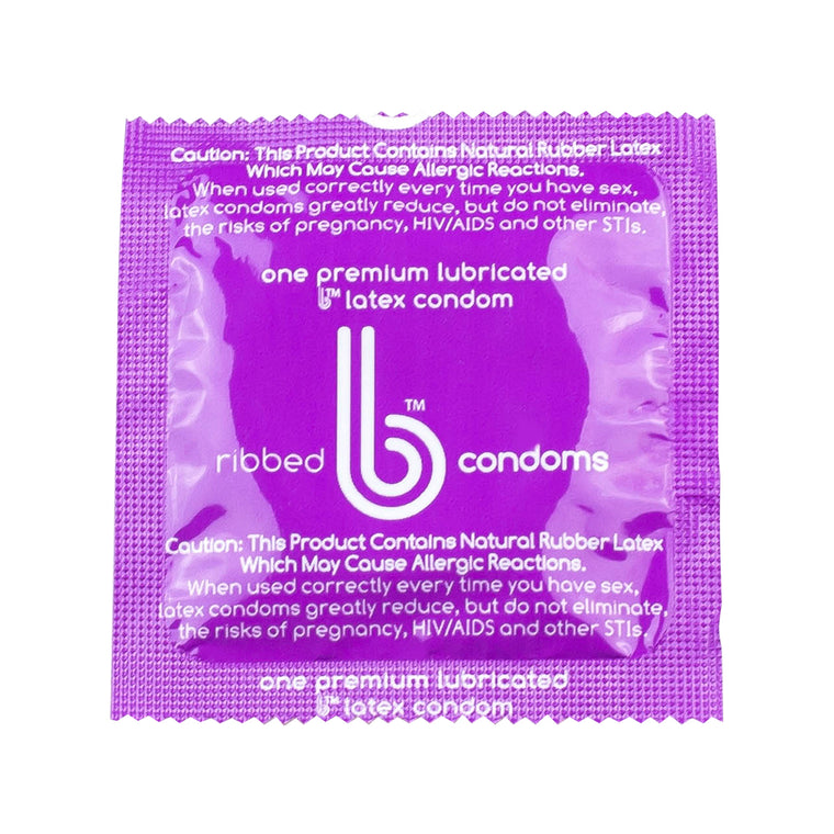 Ribbed Texture b condoms, 1000 case