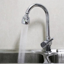 360º Rotatable Faucet Head (with shower and stream modes)