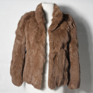 Genuine Fur Overcoat