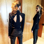 V Sexy Business Pant Suits - Madiani Boutique