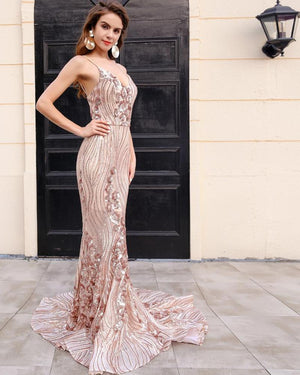 Sexy Glitter Curve Maxi Dress - Madiani Boutique