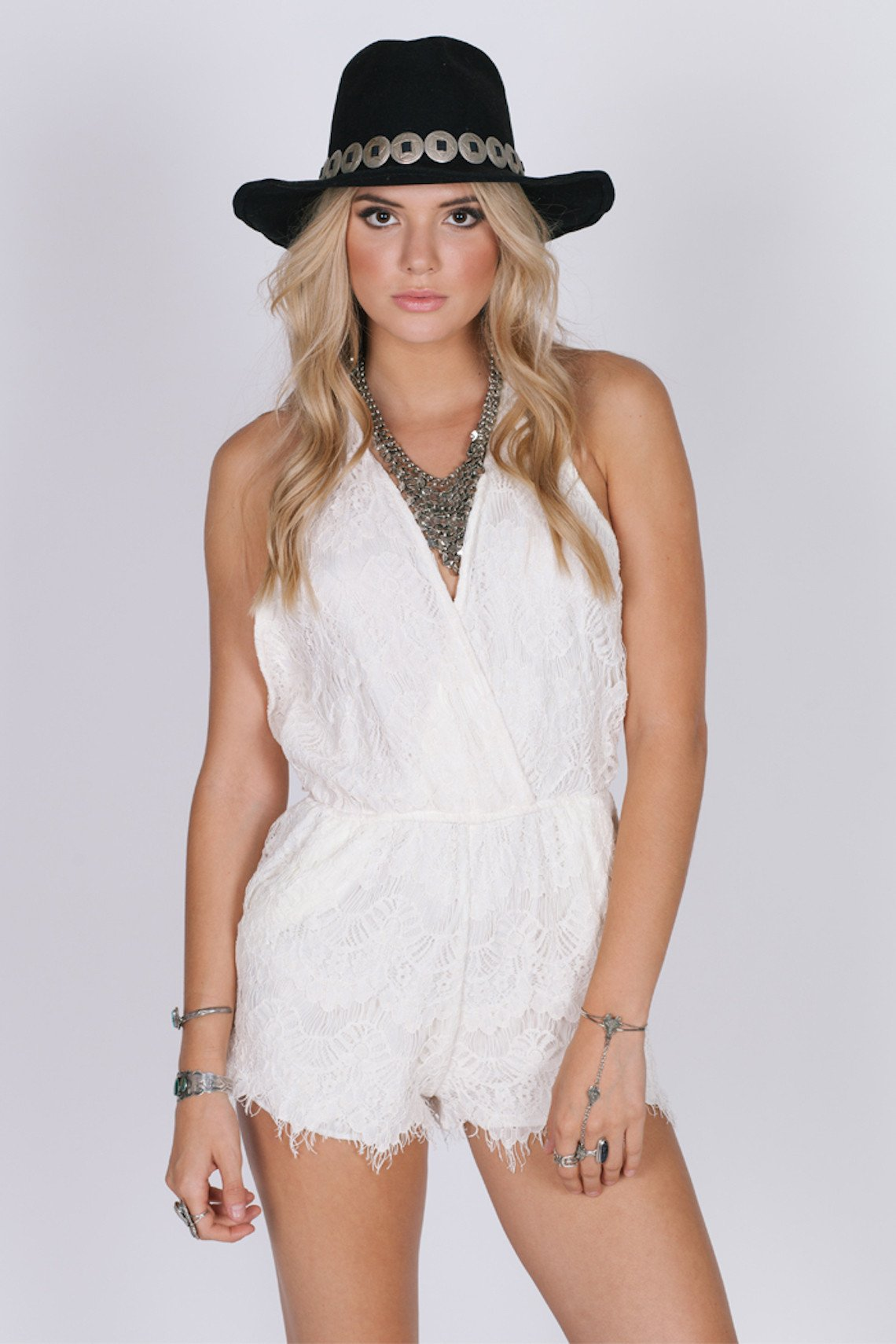 The Marilyn Romper - Madiani Boutique