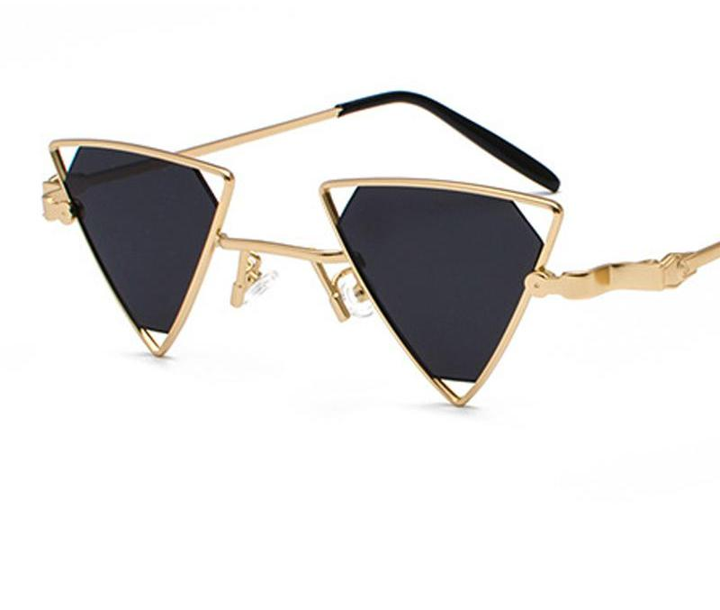 8e45937923c98 Vintage Punk Triangle Sunglasses - Madiani Boutique