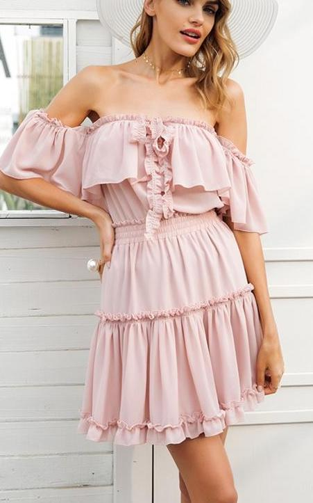 Sweet Nicky Halter Dress - Madiani Boutique