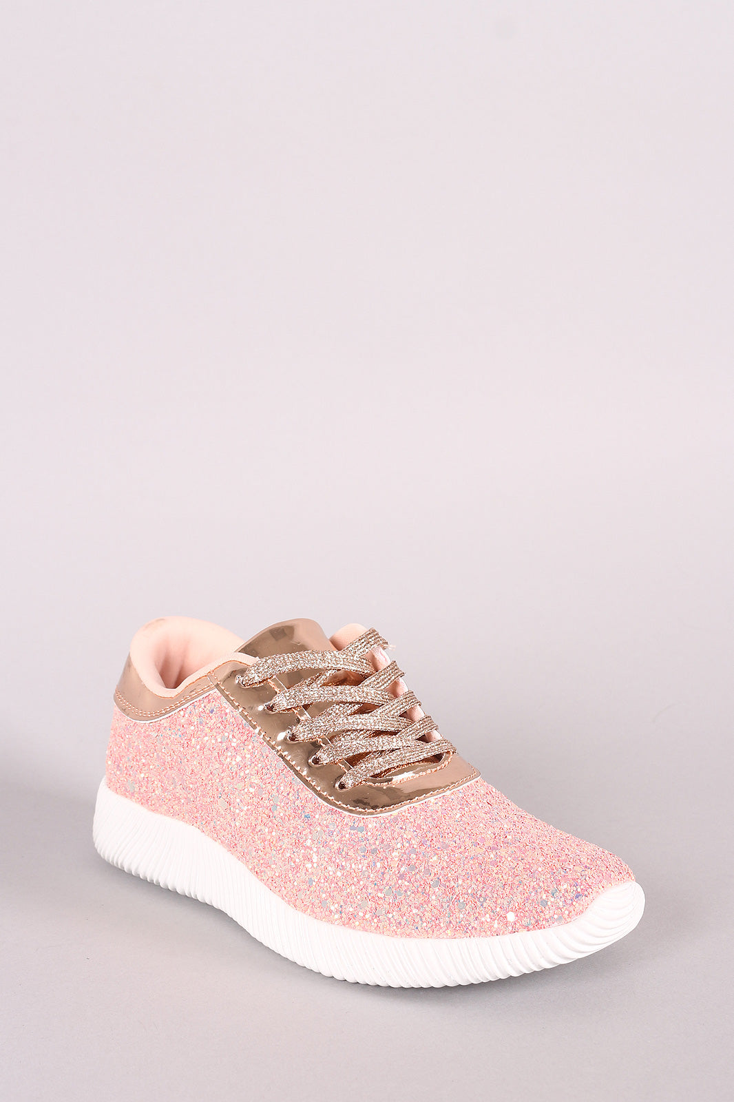 Ridge Sole Lace Up Sneakers - Madiani Boutique