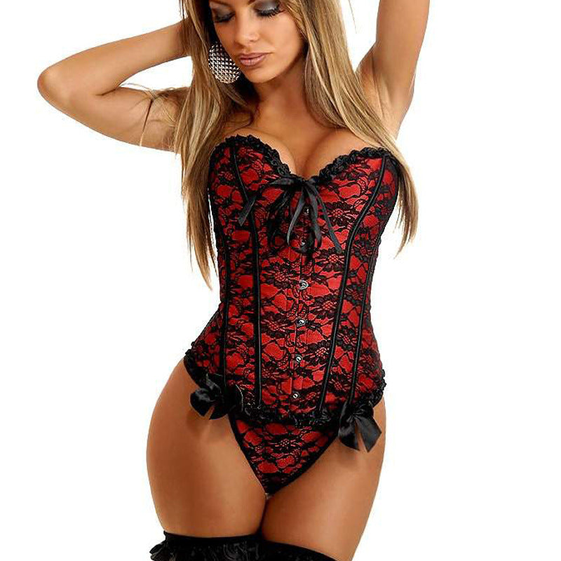 Satin Corset G-string - Madiani Boutique