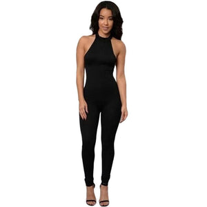 Summer Off shoulder Jumpsuit romper women High waist Sexy Jumpsuits - Madiani Boutique