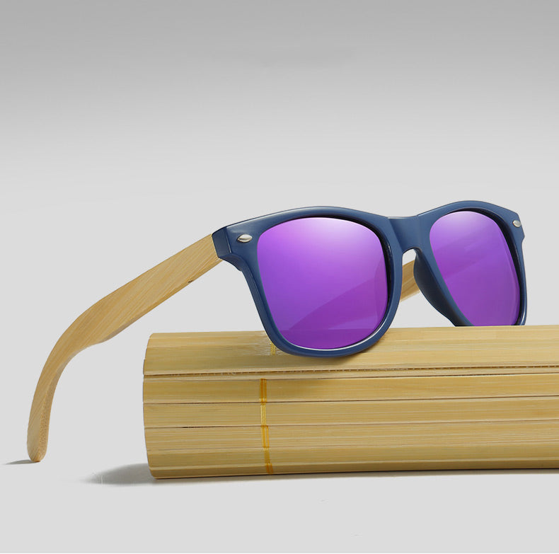 Wood Sunglasses - Alpha Clothing