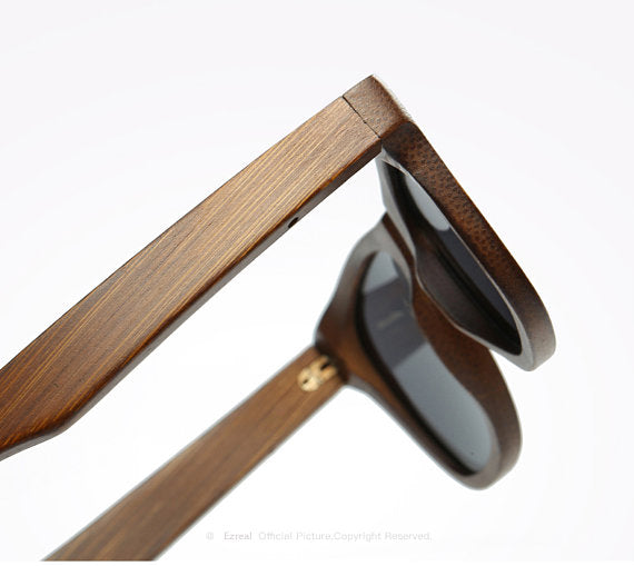 Real Wood Sunglasses - Alpha Clothing