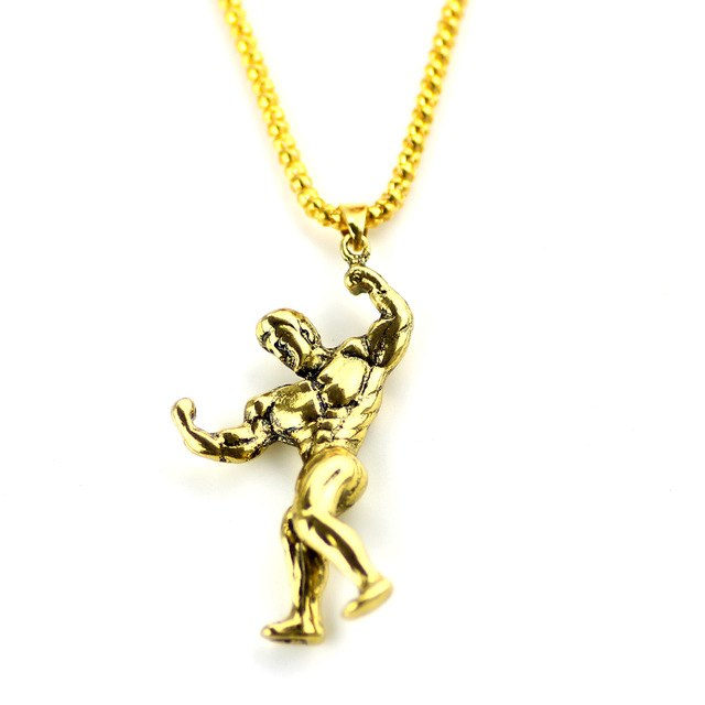 Necklace For Men Bodybuilding Gym - Alpha Clothing