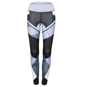 Pants Fitness Elastic Leggings - Alpha Clothing