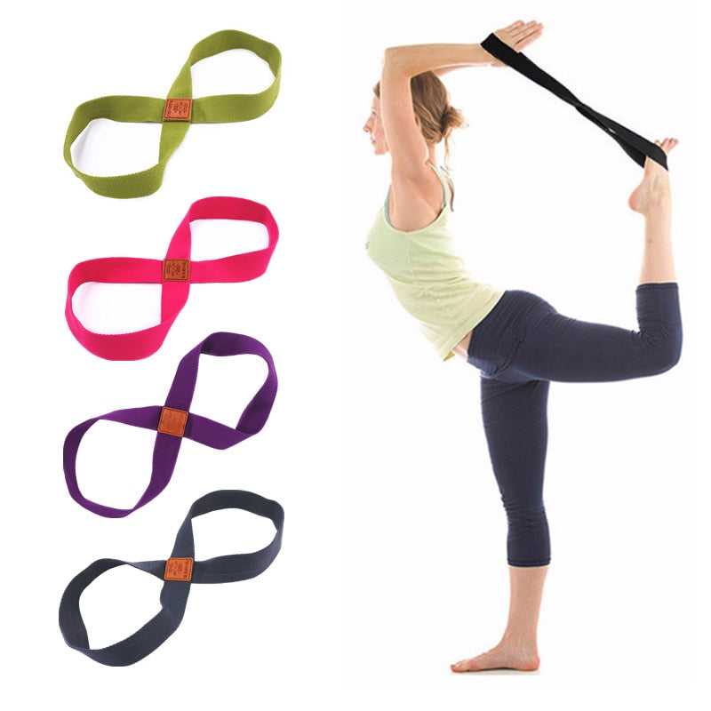 Yoga Stretch Strap Belt - Alpha Clothing