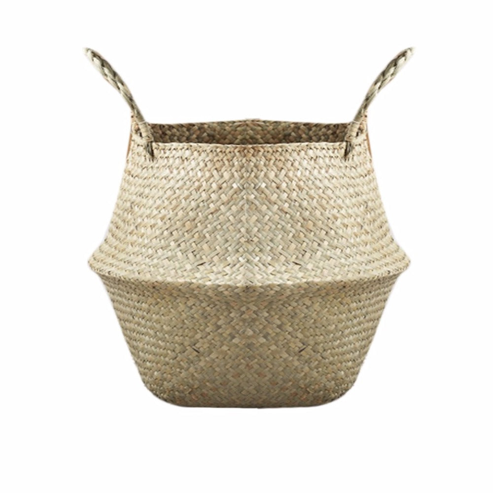 Natural Woven Seagrass Planter Basket