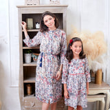 (Mommy & Me) Floral Tunic Dress Spocket App