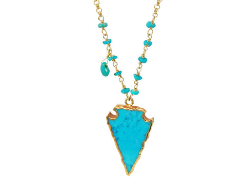 Turquoise Arrowhead Necklace Spocket App