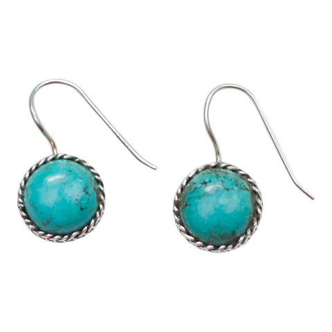 Sterling Silver Turquoise Earrings Spocket App