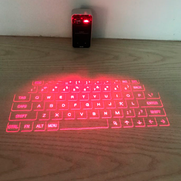 Wireless Bluetooth Virtual Keyboard and Mouse
