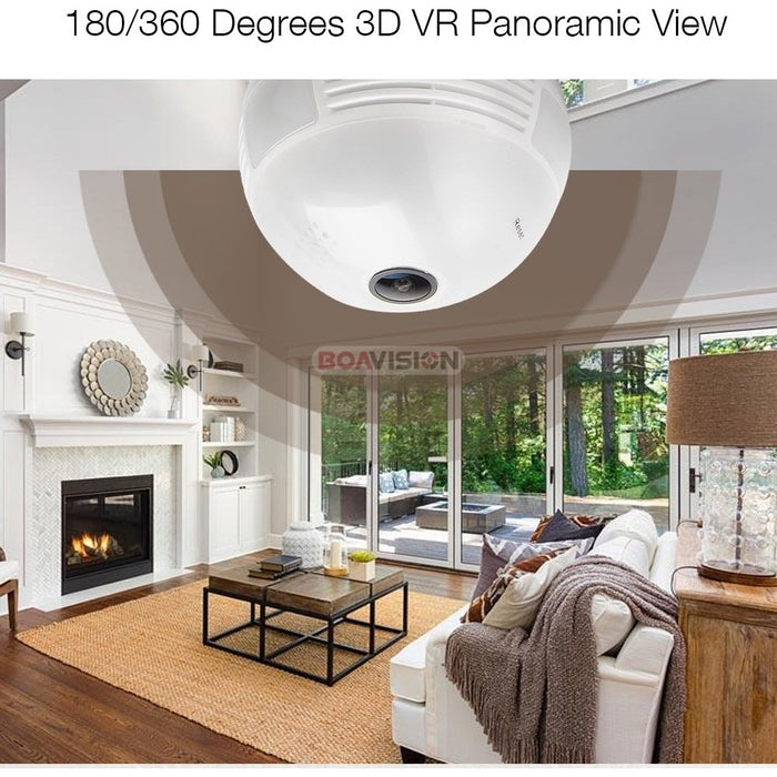 Wireless Home Security Camera (360°)