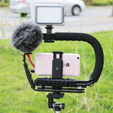 Video Stabilizer Kit for Phone / Canon Nikon DSLR