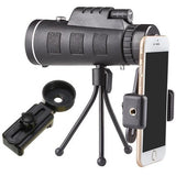 40X Optical Zoom Telephoto Lens