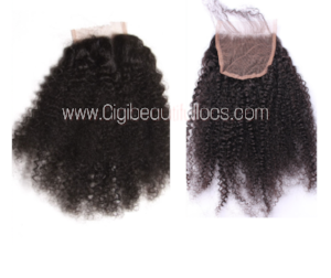 Afro  Curly Lace closure - Gigi's Beautiful Locs