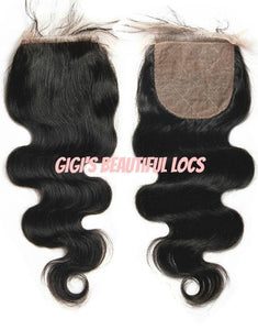 Body Wave Silk Base closure - Gigi's Beautiful Locs