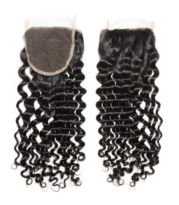 Deep wave lace closure - Gigi's Beautiful Locs