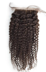 Kinky Curl Silk Base Closure - Gigi's Beautiful Locs