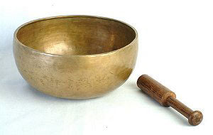 "7"" Singing Bowl Higher-Sided w/Striker - Natural Healthy & Wonderful"