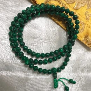 Malachite Mala 6mm - Natural Healthy & Wonderful
