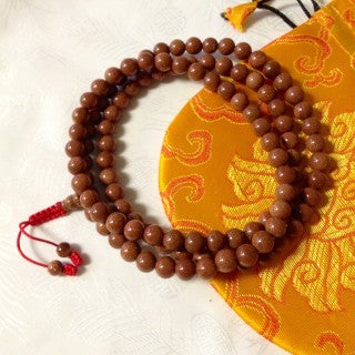 Sunstone Mala - Natural Healthy & Wonderful