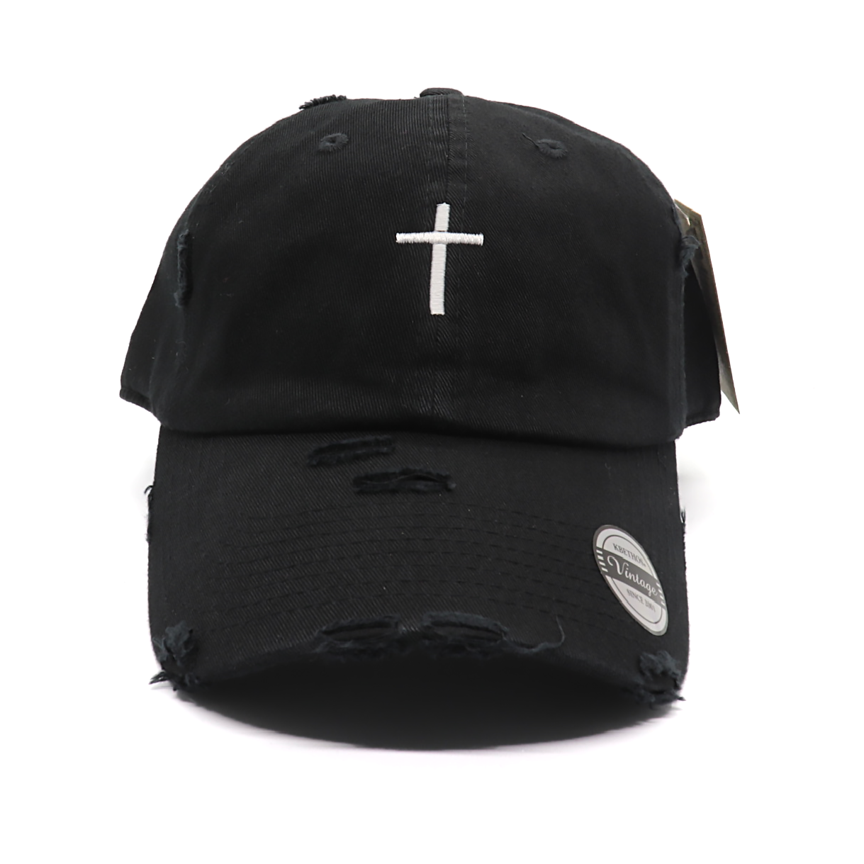 Cross Vintage Baseball Cap