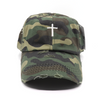 Vintage Camo Ponytail  Cross Hat