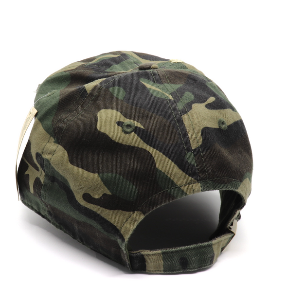 Vintage Camo Cross Hat