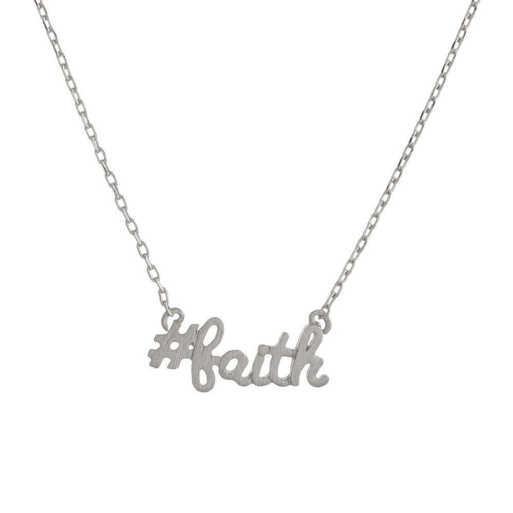#faith Necklace