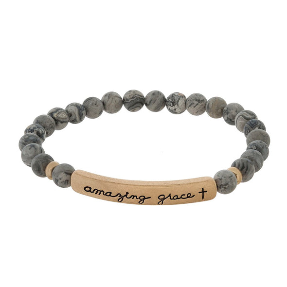 Amazing Grace Beaded Bracelets