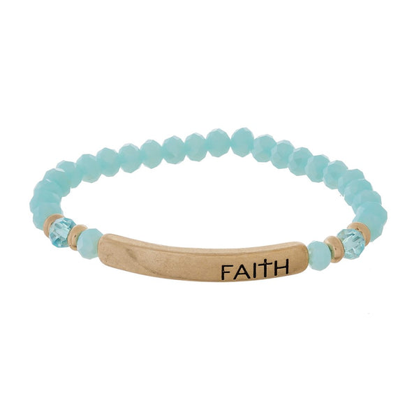 Faith Beaded Bracelets