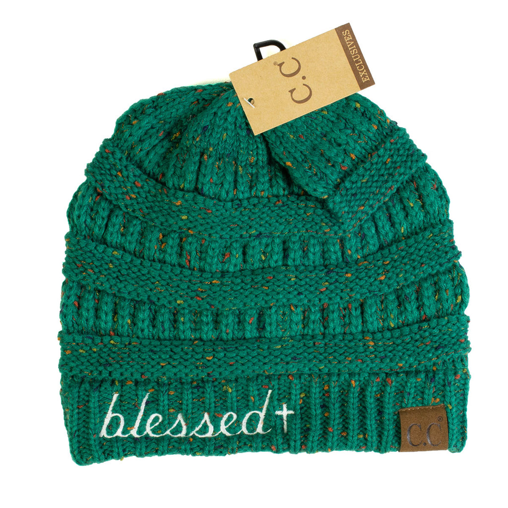 Blessed Flecked CC Beanie