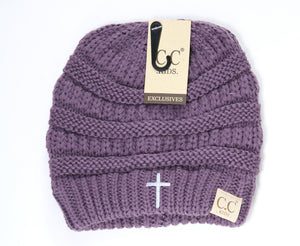 Cross Kids  Solid CC Beanie