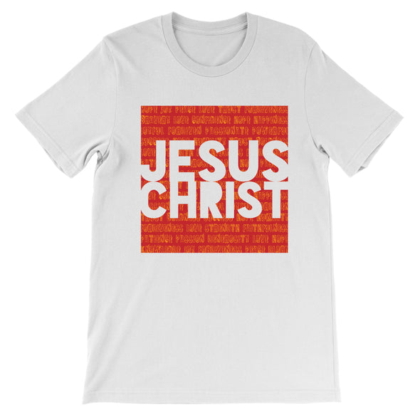Jesus Christ in Red Unisex T-Shirt