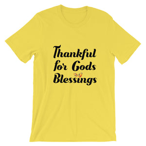 Thankful Blessings Unisex Tee
