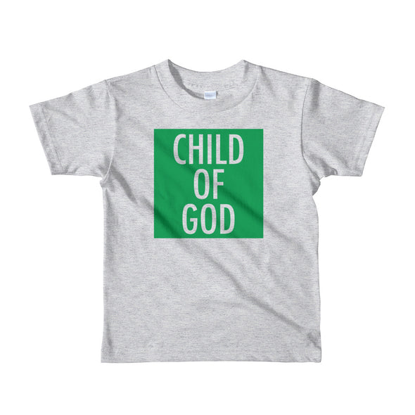 Child of God in Green Toddler Tee