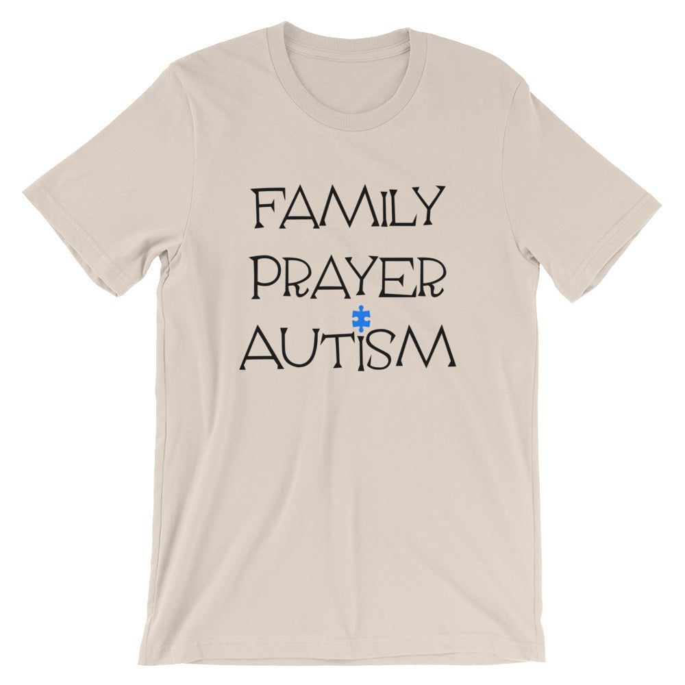 Family Prayer Autism Unisex T-Shirt