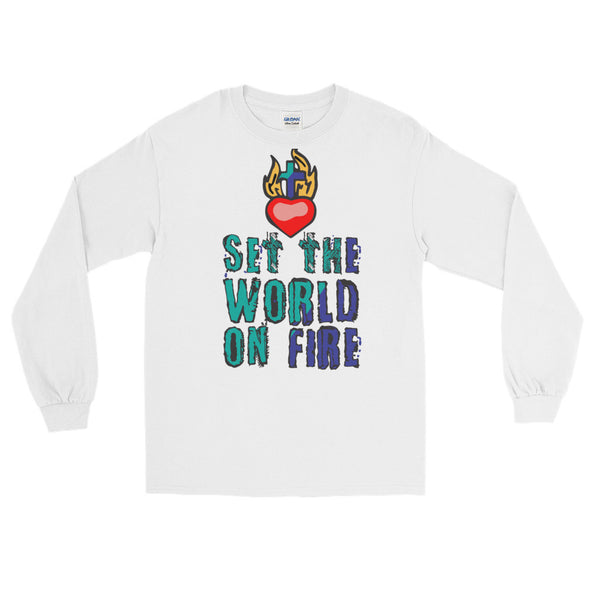 World on Fire Long Sleeve T-Shirt